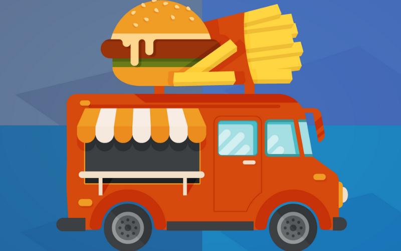 10 ideias de design para Food Truck