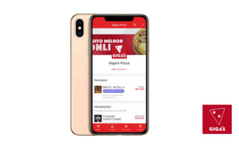 Crescimento do delivery online com o app próprio