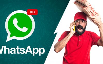 Automatize os pedidos de delivery no WhatsApp e turbine suas vendas. Saiba como.